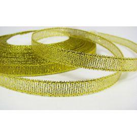 Glossy ribbon 6 mm, 22 m.