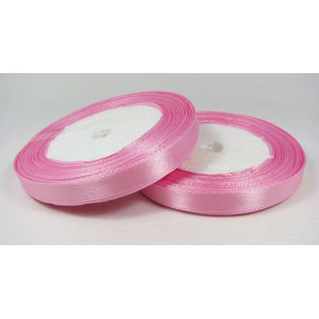 Satin ribbon, light pink, 10 mm wide, 21 meters