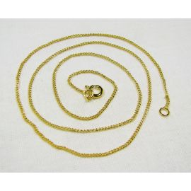 Chain with clasp 1.2 mm 48cm, 5 pcs.