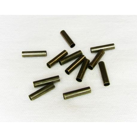Insert - tube for the manufacture of needlework, bronze color, 100 pcs.