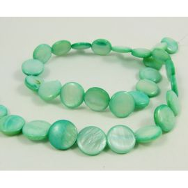 The thread of the shell beads is 12 mm