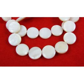Shell beads 12 mm, 1 pc.