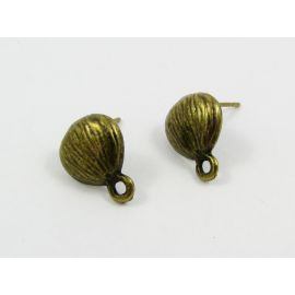 Earrings hooks 10x9 mm, 3 pairs