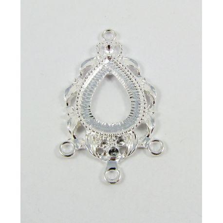 Jewellery distributor, silver, 41x25 mm