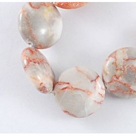 Natural Jaspio beads 16 mm, 10 pcs.