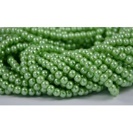Glass pearl thread 6 mm