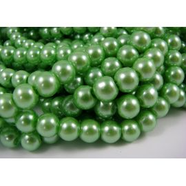 Glass pearl thread 8 mm