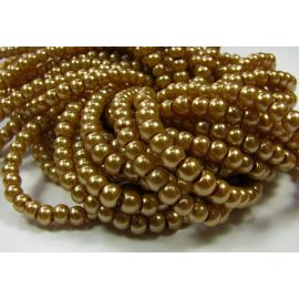 Glass pearl thread 4 mm