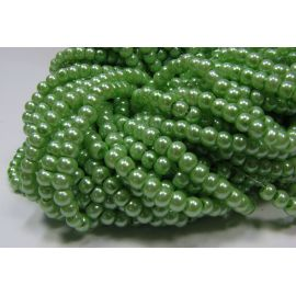 Glass pearl strand4 mm