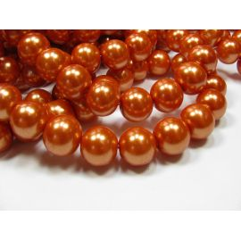Glass pearl thread 12 mm