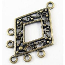 "Lingikonnektorid ""Diamond"" 40x26 mm, 1 tk."