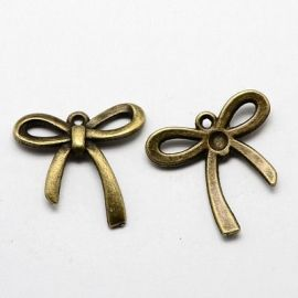 "Pendant ""Ribbon"" 25x24 mm, 1 pcs."
