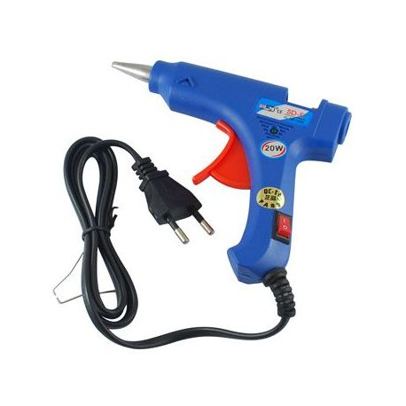 Hot glue rifle 20 W, suitable for 7 mm sticks