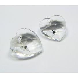 """SW kristall ripats """"Süda"""" 18 mm, 1 tk."""
