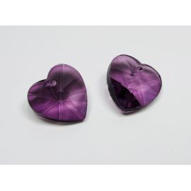 """SW kristalo pakabukas """"Širdelė"""" 18 mm, 1 vnt."""