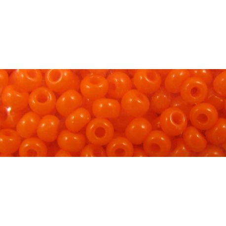 Preciosa Seed Beads (93140-11) orange, 50 g