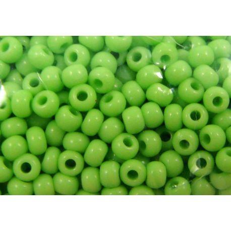 Preciosa Seed Beads (53410-10) salad, 50 g