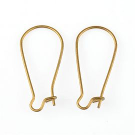 Earrings hooks 24x11 mm, 4 pairs