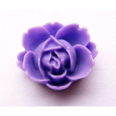 Kamėja - gėlytė violetinės spalvos 21x19mm