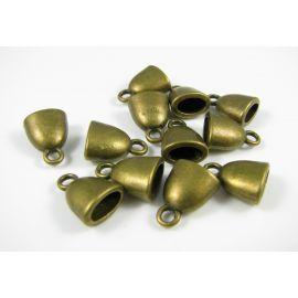 Beads caps 10x6 mm, 4 pcs.