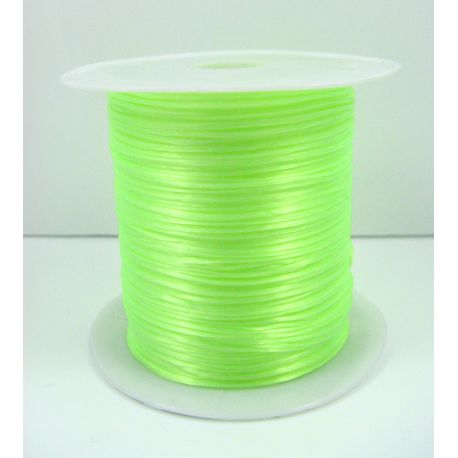 Elastic rubber salad color 0.80 mm thick 10 meters