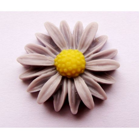 Kamae - chamomile for the manufacture of jewelry gray 22x22mm