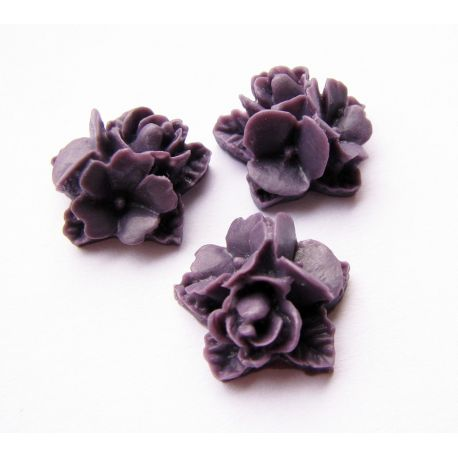 Kama - gay dark purple 16x16mm