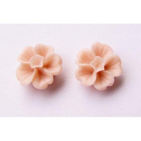Kama - flower light pink 13x13mm