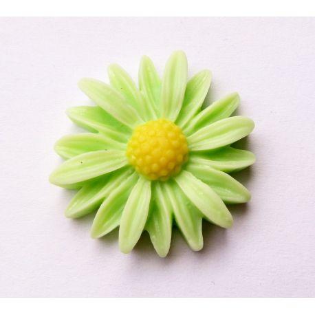 Kama - chamomile light green 27x26x7mm