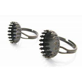Ring base for cabochon 17 mm, 1 pcs.