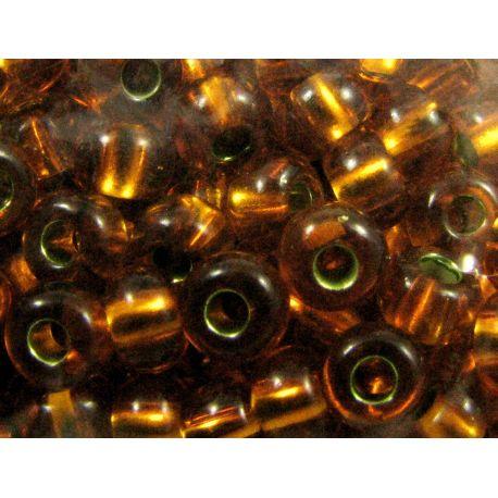 Preciosa Seed Beads (87090-7) brown-orange 50 g