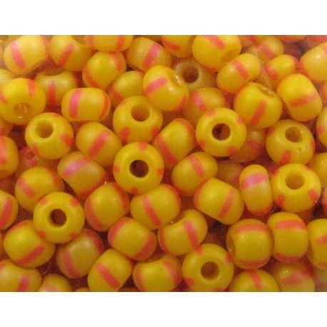 Preciosa biseris (39001/84970-8) oranžinės spalvos - matiniai 50 g