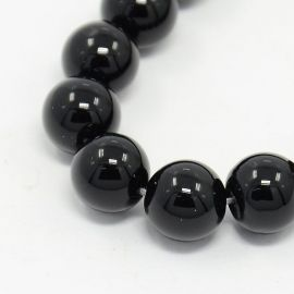 Agate beads strand 10 mm