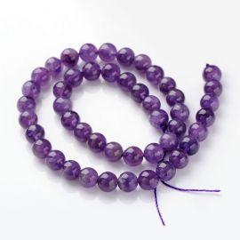 Amethist bead thread 8-9 mm