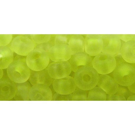 Preciosa Seed Beads (39001/50300-7) yellow blue - opaque 50 g
