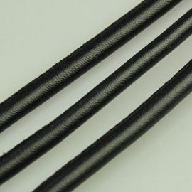 Artificial leather cord 5.50 mm, 1 m