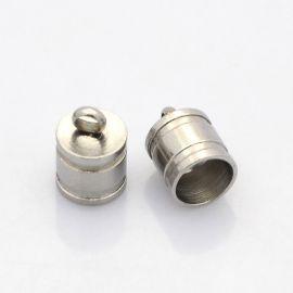 Nerūsējošā tērauda detaļa 10x7 mm, 4 vienības.