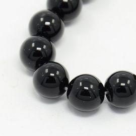 Agāta pērlītes 6 mm šķipsnas