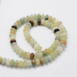 Amazonite beads strand 6x4 mm