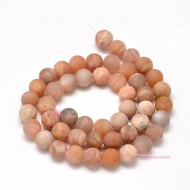 Solar stone bead thread 5 mm