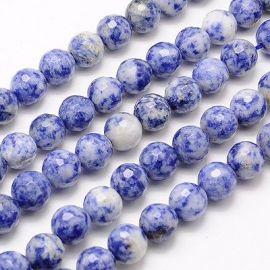 """Blue spot"" akmens karoliukų gija 10 mm"