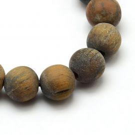 Tiger eye beads strand 8 mm