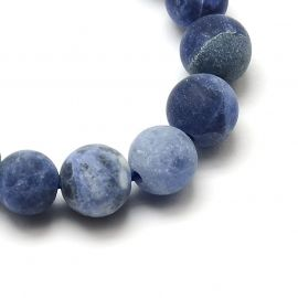 Sodalite bead thread 8 mm