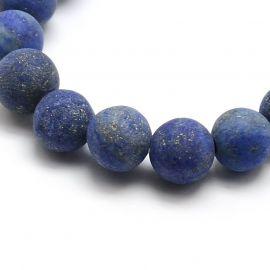 Lapis Lazuli bead thread 8 mm