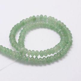Avantiurin beads strand 6x4 mm