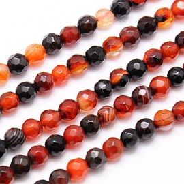 Agate beads mix strand 4 mm