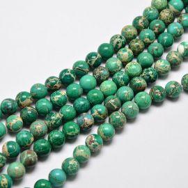 Jaspio beads strand 6 mm