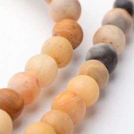 Agate bead thread 4 mm