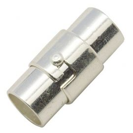 Magnetic clasp, 17x7 mm, 2 units.