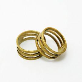 Кольцо предназначено для открывания кольца, цвет золото, 19 мм 1 шт.